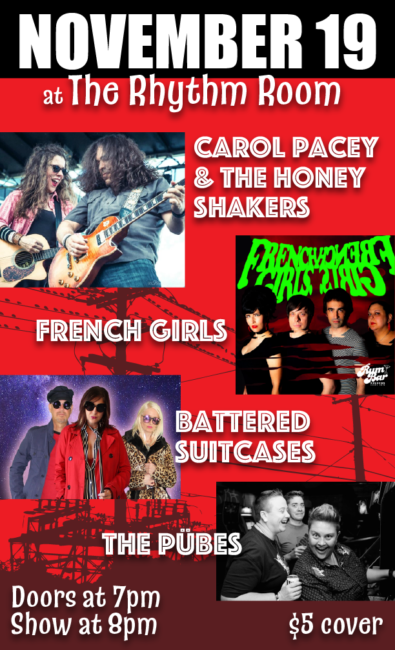 Carol Pacey & The Honey Shakers